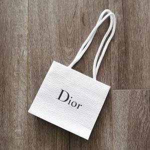 Dior Small Paper Shopping Bag